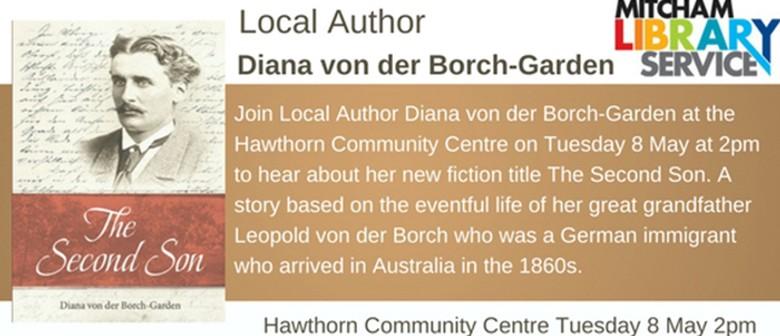Local Author Diana von der Borch-Garden