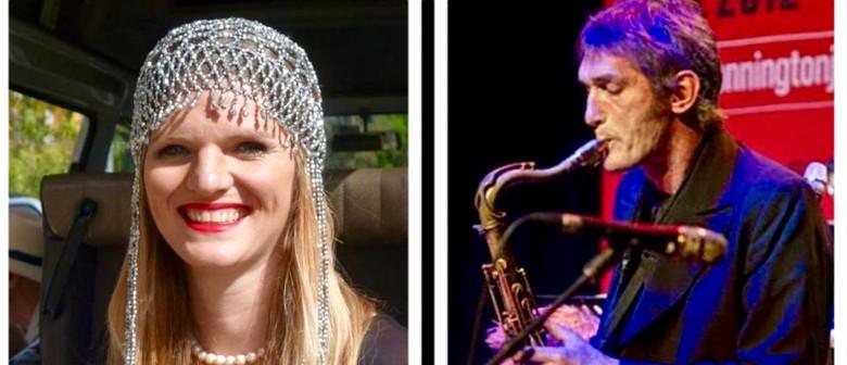 Juliarna Clark &  Tony Hicks with JMQ Jazz Ensemble