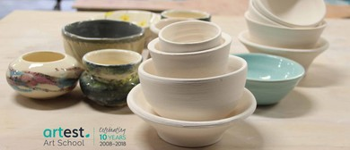 Learn to Use the Pottery Wheel With Shinhee Ma