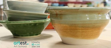 Clay Hand Building and Pottery Wheel Classes for Adults
