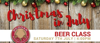 Christmas in July Beer Class