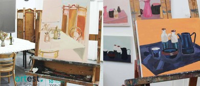 Learn to Paint In Oils Or Acrylics With Nicole Kelly