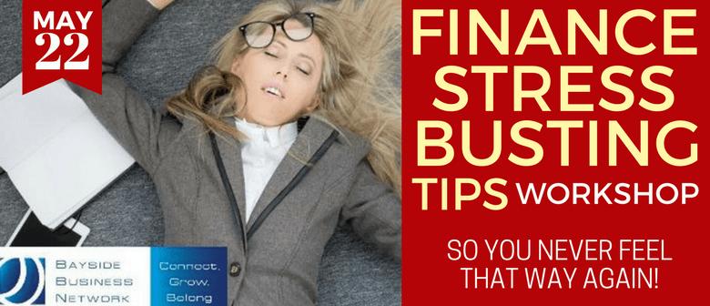Finance Stress Busting Tips – Workshop