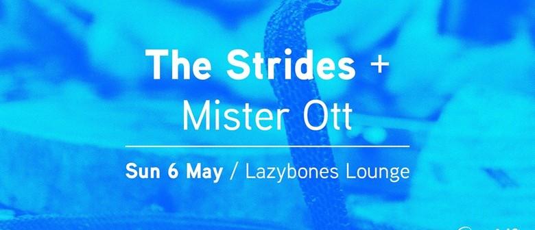 Earshift Music Fest: The Strides & Mister Ott