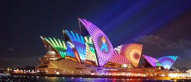 Vivid Sydney Harbour Dinner Cruise