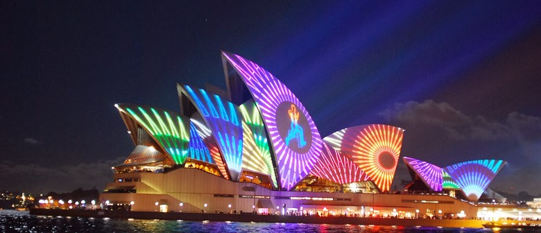 Vivid Sydney Harbour Dinner Cruise