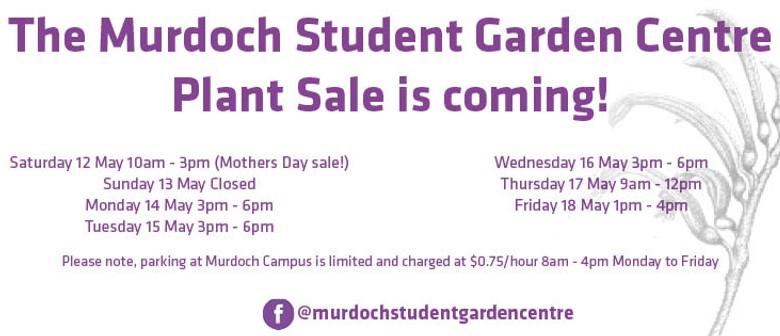 Murdoch Student Garden Centre Plant Sale