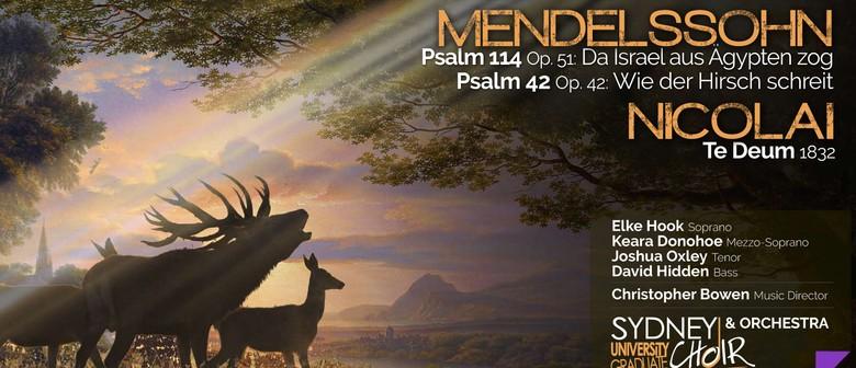 Concert: Mendelssohn & Nicolai