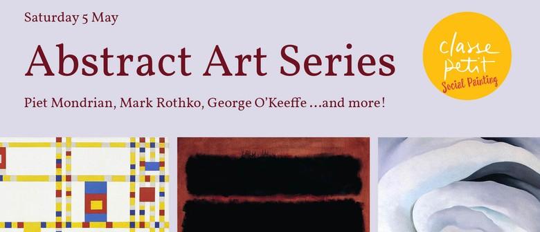 Saturday Social Painting: Modern Abstract Art Series