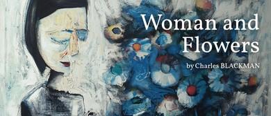 Saturday Social Painting: Woman & Flowers, Charles Blackman