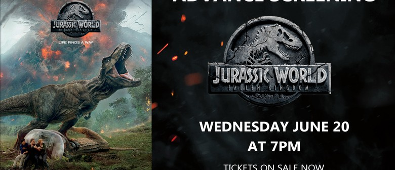 Advanced Screening Jurassic World – Fallen Kingdom