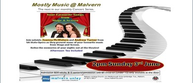 Mostly Music @ Malvern: Favourite Songs From Stage & Screen