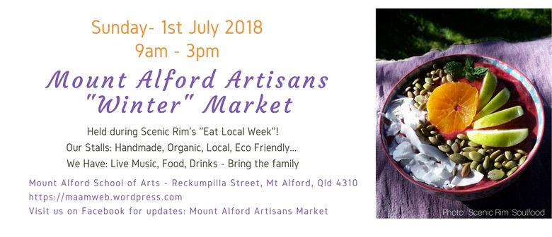 Mount Alford Artisans Winter Market