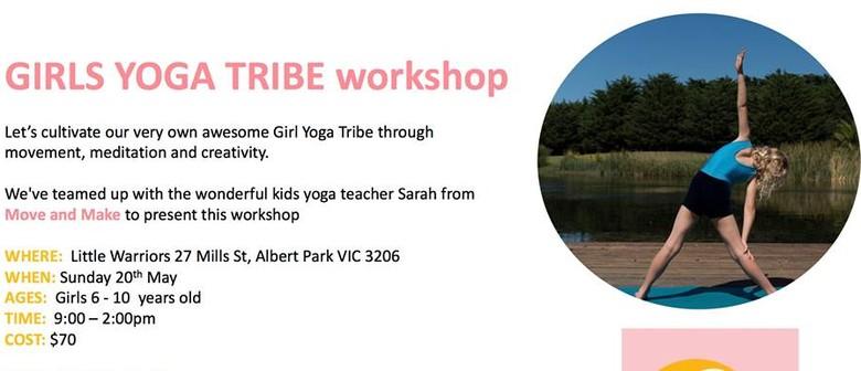Girls Yoga Tribe Workshop