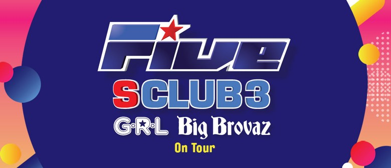 Five, S Club 3, Big Brovaz and G.R.L. – Poptastic Tour 2019