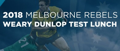 Melbourne Rebels Weary Dunlop Test Lunch