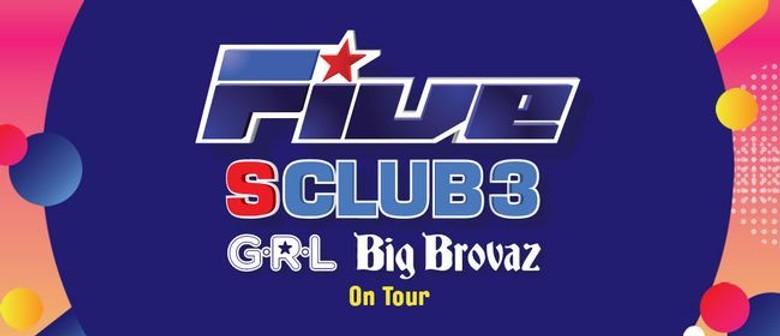 Five, S Club 3, Big Brovaz and G.R.L. – Poptastic Tour 2019