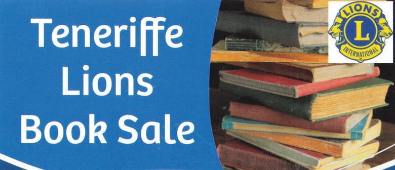 Teneriffe Lions Book Sale