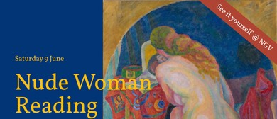 Saturday Social Painting: Nude Woman Reading By R. Delaunay