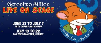 Geronimo Stilton Live On Stage
