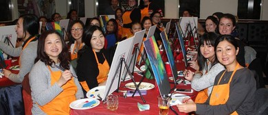 Beginners Painting Class With a Twist