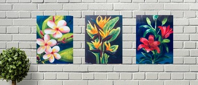 Botanical Series – Unique Fun Painting Class