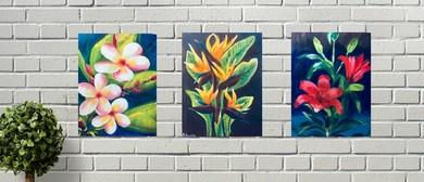 Botanical Series – Unique Fun Painting Class
