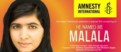 Amnesty International Film Night – He Named Me Malala