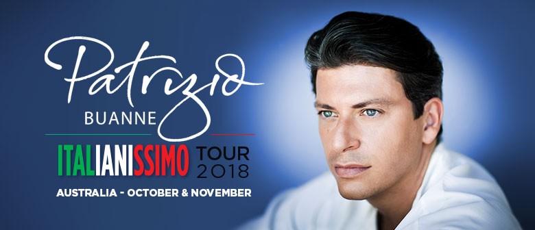 Patrizio Buanne Italianissimo Tour - Melbourne