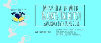HBF Blokes Talkfest – Men's Health Week