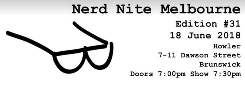 Nerd Nite Edition 31