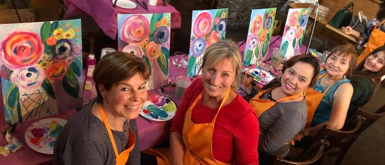 Girls Night Out With Canvas & Paint