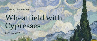 Social Painting: Wheatfield with Cypresses by Van Gogh