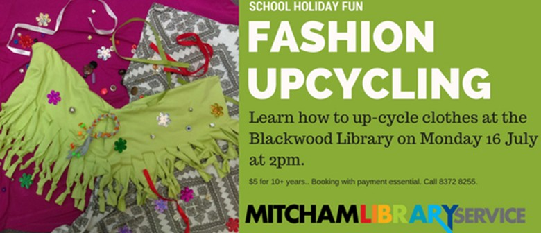Fashion Upcycle By Making a Scarf and Accessories
