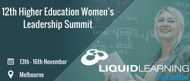 12th Higher Education Women's Leadership Summit