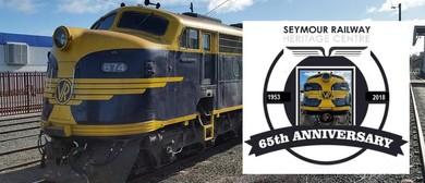 B74 Birthday Heritage Train Tour