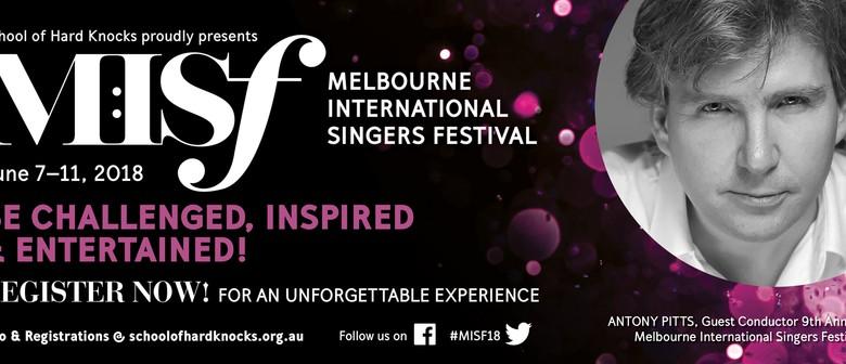 Melb International Singers Festival Showcase Concert No.2
