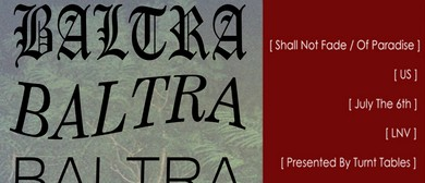 Turnt Tables Presents Baltra & Special Guests