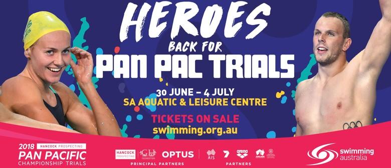 2018 Hancock Prospecting Pan Pacific Championship Trials