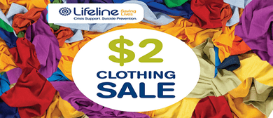 Lifeline $2 Clothing Sale