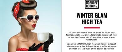 Winter Glam High Tea