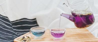 Blue Pea Flower Tea Tasting By Libertea