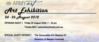 Army Art Fine Art Fundraising Exhibition