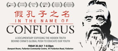In the Name of Confucius – Documentary Screening