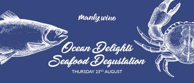 Ocean Delights Seafood Degustation