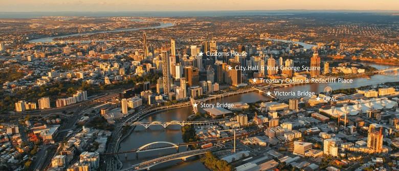 Brisbane Is Lighting Up – Red, White & Blue