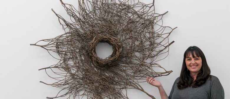Pop Up Sculptural Basketry Exhibiton