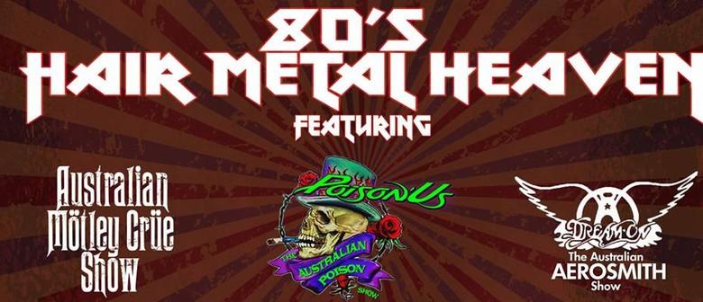 80's Hair Metal Heaven Ft. Australian Motley Crew Show