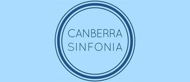 Canberra Sinfonia Performs Mozart & Schubert
