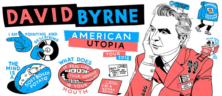 David Byrne – American Utopia World Tour